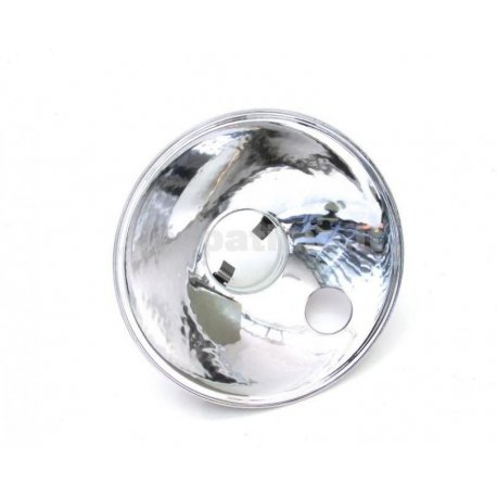 Headlamp reflector two-colour siem hole diameter 115, with large parking light hole