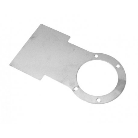 Support fmi plate to be installed between the horn and the side panel