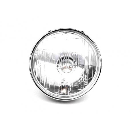 Headlamp siem glass diameter 115 for vespa 125/150 super, 125 et3/primavera