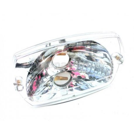 Headlamp set vespa 50 special, 50 elestart (clear glass)