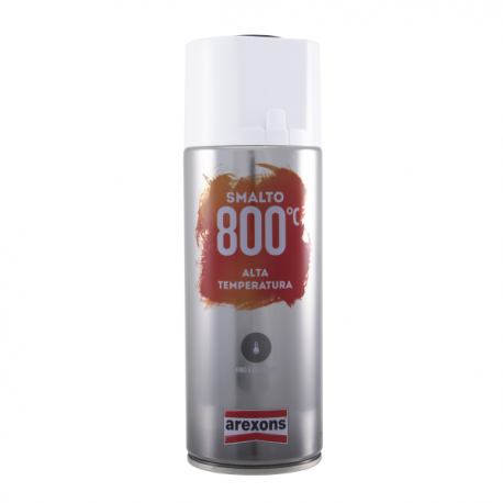 Enamel spray clear for high temperatures