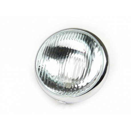 Glass headlamp with ring siem for vespa 125 vna1t/2t, 125 vnb1t