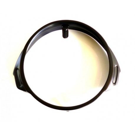 Ring headlamp black vespa px/pe