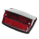 Tail light with gasket and grey cover vespa 50 special v5b1t→3t, 50 elestart