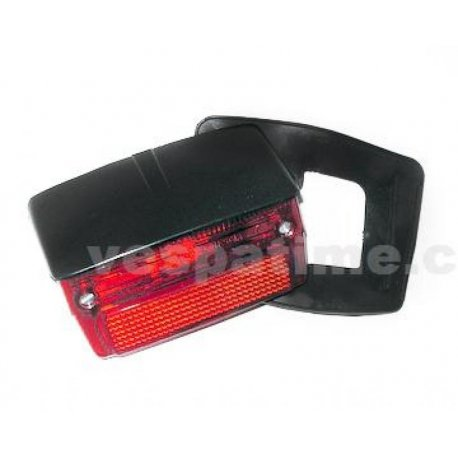 Tail light with gasket and black cover vespa 50 special v5b1t→3t, 50 elestart
