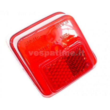 Glass tail light vespa 50 n/l/r v5a1t 49126→