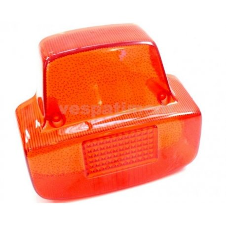 Glass tail light vespa 125/150 super, 125 gt, 150 sprint vlb1t 025479→, 180 ss vsc1t 0018001→, 180 rally 1st series
