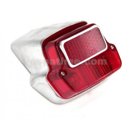Tail light aluminium for vespa 50 n v5a1t→49125 siem original