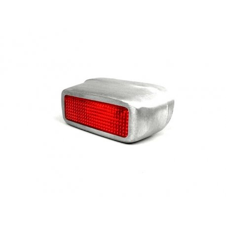 Tail light aluminium for vespa 125 vm1t→2t, 125 vu1t utilitaria