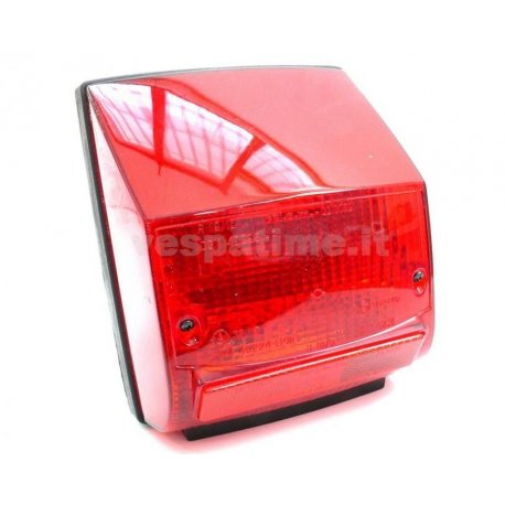 Tail light piaggio original for vespa px arcobaleno with gasket
