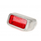 Tail light aluminium for vespa 125 vm2t , 125 vn1t→2t, 150 vl1t→3t, 150 vb1t, 125 vna1t→2t, gs 150 vs1t→vs3t