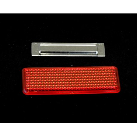 Kit reflector and number plate light for tail light for vespa 125 v30t→v33t , 125 vu1t, 125 vm1t siem original