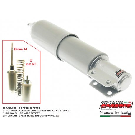 Front shock absorber by carbone vespa px/pe/arcobaleno all series without disc brake