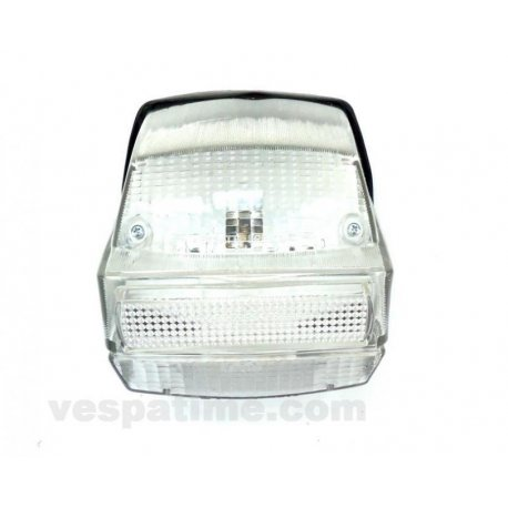 Tail light with gasket 125 primavera vma2t 0140162→, et3, ets. white glass