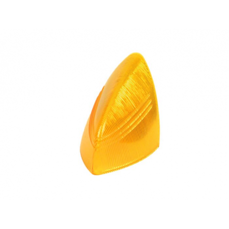 Lens stop tail light for vespa 150 gs vs4 aluminium, orange
