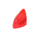 Lens stop tail light for vespa 150 vba1t aluminium, red