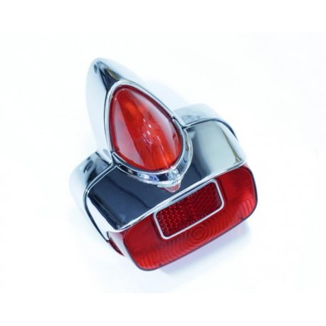 Tail light metal siem and aluminium ring