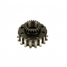 Pinion PINASCO engine gear for clutch 8-12 springs Z24 on primary Z65/67/68 - Vespa PX-PE-MY-COSA