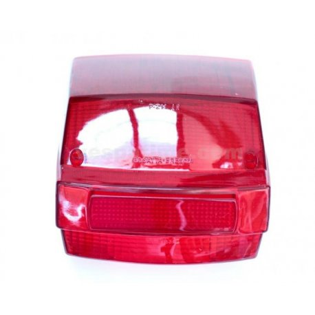 Glass tail light for vespa p125x, p150x, p200e, px 125/150/200 e