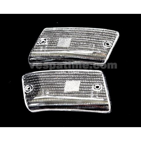 Pair of lenses rear indicators white vespa pk50, 125xl, rush, n, fl2