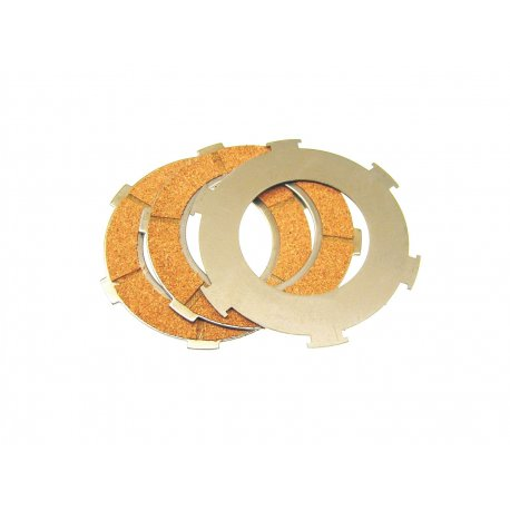 Set clutch sealed discs