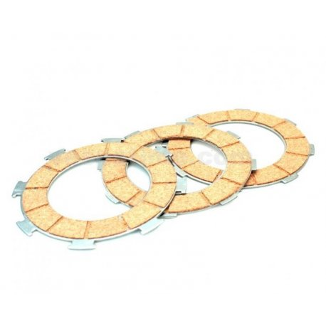 Set clutch plates only vespa gs 150 vs5t→00122089, gs 160, 180 ss, 180/200 rally, px 200