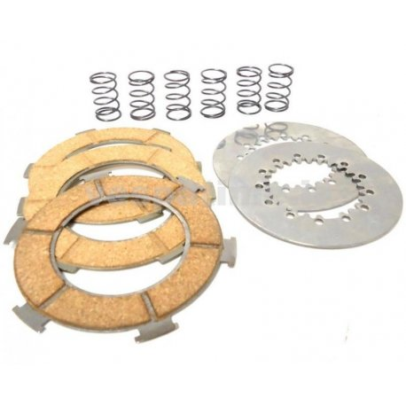Set clutch plates surflex including springs