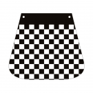 Mud flaps for Piaggio Vespa checkered