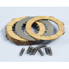 Set clutch POLINI for Vespa PX-PE-COSA2 - 8 disks, 8 reinforced springs