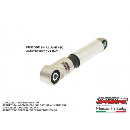 Front shock absorber made in italy all metal with aluminium-cast lower part for vespa 50s