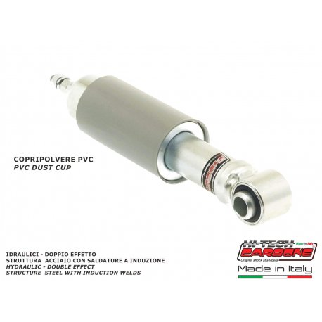 Front shock absorber for vespa 50 first series from 1963, vespa 90. by carbone