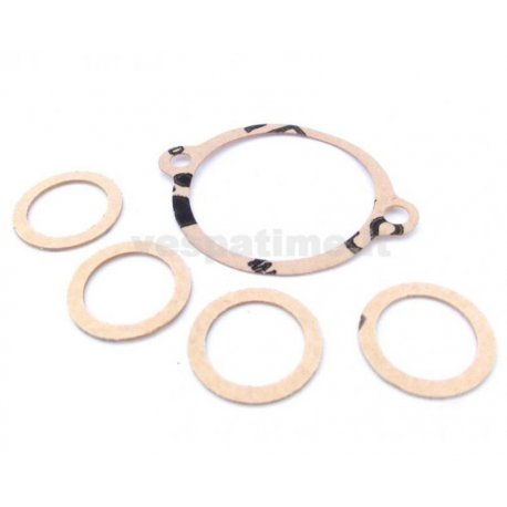 Set of gaskets carburettor vespa 150 vl3t, 150 vb1t ma19c, ma19d carburettors (orig.ref.017713)