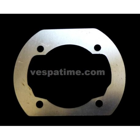 Gasket shim cylinders quattrini for vespa smallframe aluminium plated