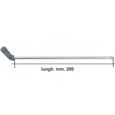 Lever fuel 200mm long for our product gr 001a