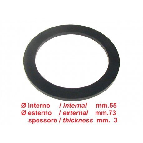 Rubber gasket cap fuel tank except for vespa 50/90/125 primavera/et3