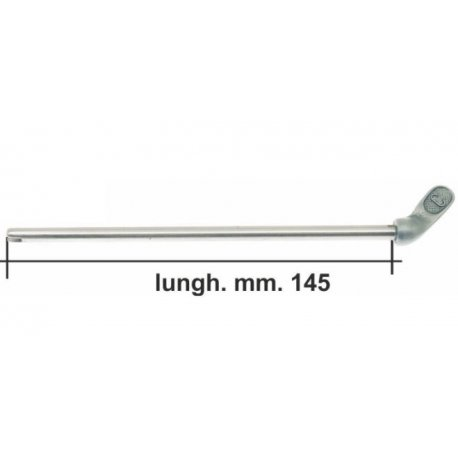 Lever fuel 155mm long for our product gr 001 aluminium