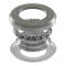Cover steering set lower with roller bearing cage