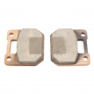 Replacement brake pads for Vespa disc brake system PINASCO