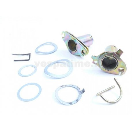 Kit handlebar vespa with bushings, shims, springs for gear tube and throttle tube.