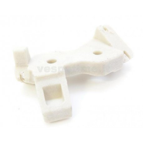 Bracket for connection gear throttle and change twistgrip 125 primavera/et3 plastic for models from 1978