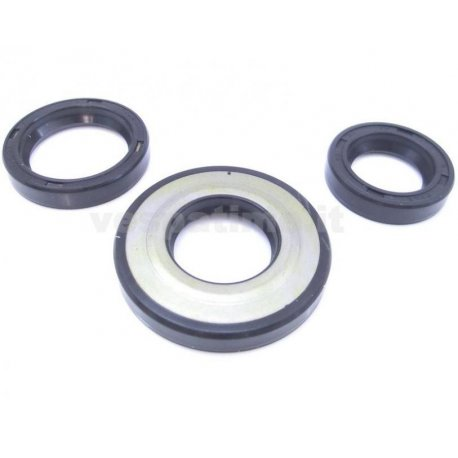 Kit oil seal for vespa 50 pk all with oil seal flywheel side dimensions 20-32-7 (3-piece set) ariete.