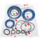 Kit oil seal vespa px200, arcobaleno (set 3 oil seals)