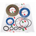 Kit oil seal vespa px200, arcobaleno (set 3 oil seals with oil seal clutch side viton)