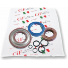 Kit oil seal vespa 50/90/125 et3/primavera, pk50s (set 3 oil seals + 5 o-rings) oil seal flywheel side viton