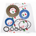 Kit oil seal for vespa px125t5, cosa 125/150/200 from 1987 (3 oil seals) oil seal clutch side viton