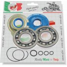 Kit bearings and oil seals (CORTECO) for overhauling crankshaft Vespa 125 VNB1T..VNB6T/GT/GTR/TS, Super, 150Sprint/Sprint V./GL/VBA1T/VBB1T-VBB2T