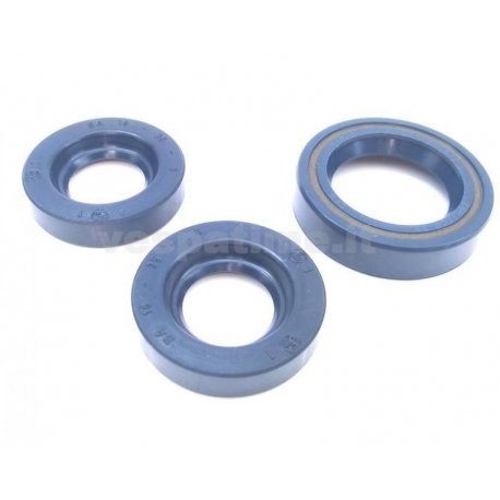 Kit oil seal for vespa 125 v30t→v33t corteco blue (3 oil seals)