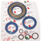Kit oil seal for vespa pk125, pk125xl (3-piece set + 5 o-rings) corteco blue