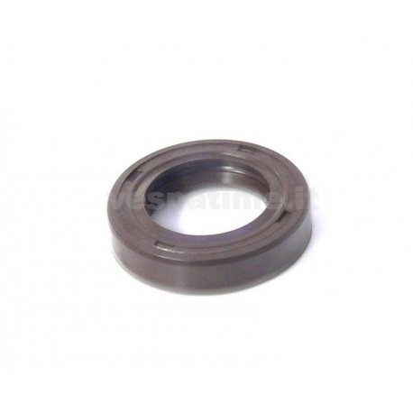 Oil seal flywheel side dimensions 20-32-7 vespa pk50xl, fl, hp, viton brown double lip