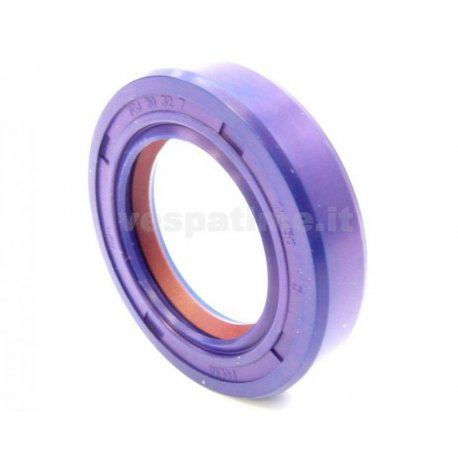 Oil seal flywheel side dimensions 20-32-7 vespa 50/90/125 primavera/et3, pk50, pk50s, viton with teflon lip, polini